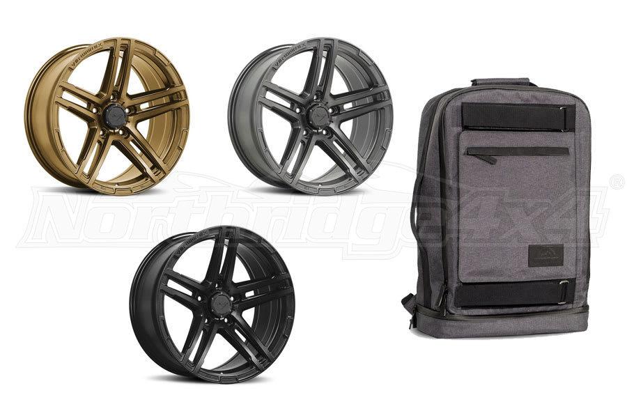 Venomrex 17in Wheel Package - set of 5 (Part Number:VRV5011709051276C72PKG)