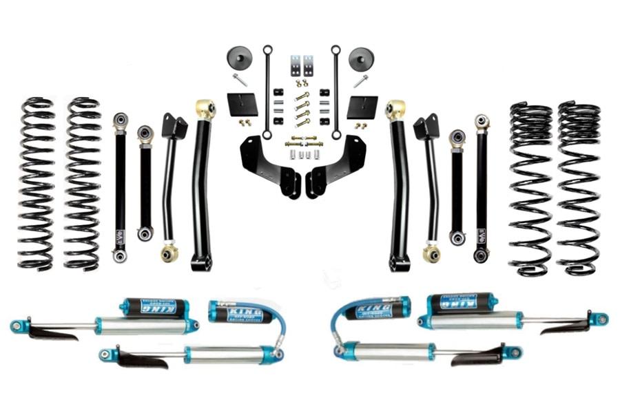 Evo Manufacturing 2.5in Enforcer Overland Stage 4 Lift Kit w/ Comp Adjusters - JT