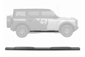Go Rhino 4in 1000 Series Side Step Kit - Ford Bronco 4Dr