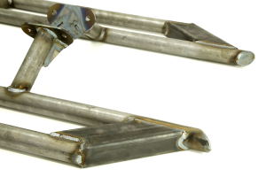 EVO Manufacturing Rock Sliders Low Angle Step Raw (Part Number: )