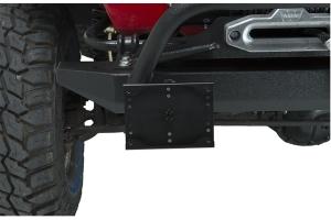 Kentrol Shackle Mounted License Plate Bracket - Textured Black
