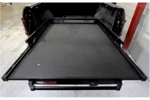 BedSlide 1000 Classic Cargo Slide System, 95in x 48in - Black - Toyota Tundra 2007+ / Ram 1981+ 1500/2500/3500  w/ 8ft Bed