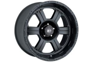 Pro Comp Series 7089 Wheel Cast Blast Alloy Flat Black 17x8in 5x5 - JT/JL/JK