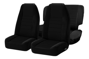 Smittybilt Neoprene Front and Rear Seat Covers Black  - JK 2DR 2013+
