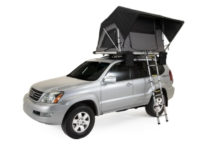 FreeSpirit Recreation Adventure Series Gas Strut 55in Roof Top Tent - Grey/Black