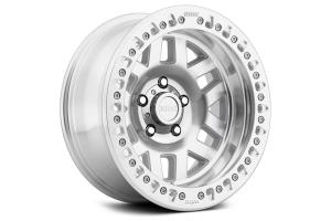 KMC Wheels KM229 Machete Crawl Beadlock Machined Wheel, 17X9 8X170