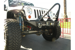 LOD Signature Series Crawler Front Bumper Bare Steel (Part Number: )