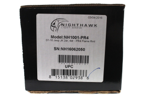 UnderCover Inc. NightHawk Light Brow Flame Red (Part Number: )