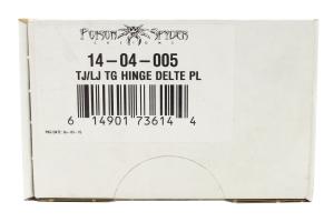 Poison Spyder Tailgate Hinge Delete Plates (Part Number: )