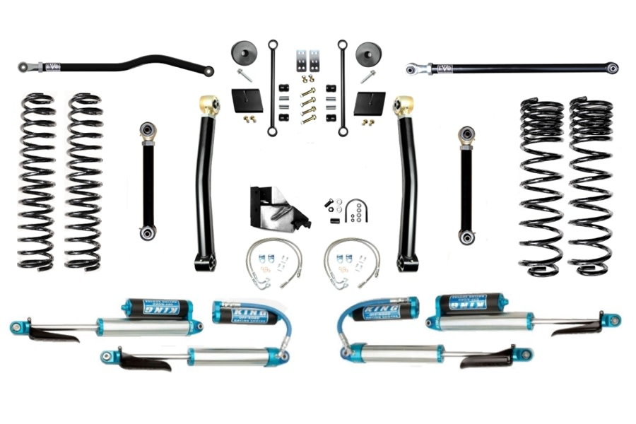 EVO Manufacturing 6.5in Enforcer Stage 3 Plus Lift Kit w/ Comp Adjusters - JT