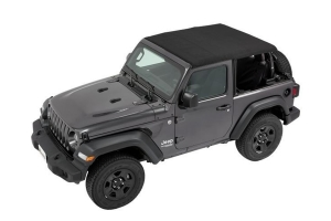 Bestop Trektop NX Soft Top, Black Twill - JL 2Dr