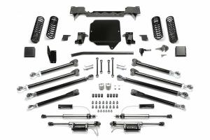 Fabtech 5in Crawler Long Arm Kit w/Dirt Logic Reservoir Shocks - JT