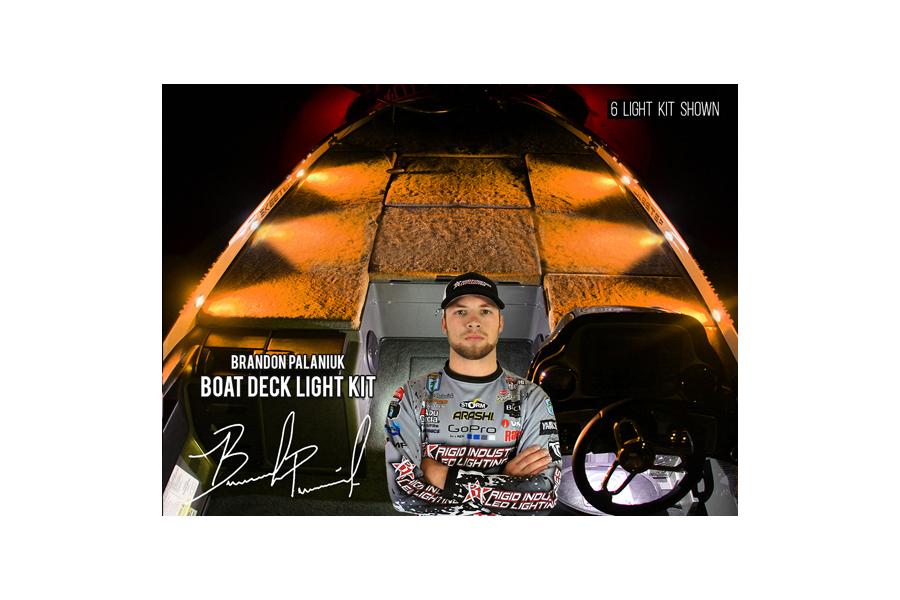 Rigid Industries Brandon Palaniuk A-Series Deck Light Kit Amber (Part Number:400893)