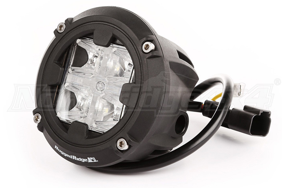 Rugged Ridge Round LED Light 3.5 inches, Combo High/Low Beam (Part Number:15209.31)