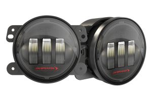 JW Speaker 6145 J2 LED Black 4in LED Fog Light Kit