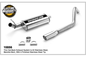Magnaflow Stainless Cat-Back System Performance Exhaust (Part Number: )