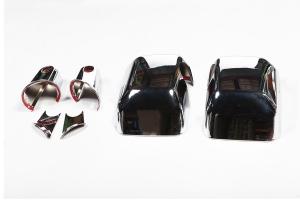 Rugged Ridge Chrome Mirror Cover Kit - JK