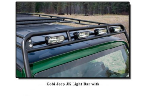 GOBI Stealth Rack Light Bar Brackets (Part Number: )