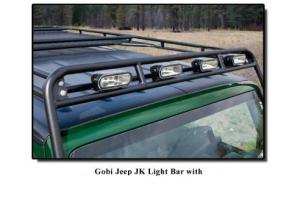 GOBI Stealth Rack Light Bar Brackets ( Part Number: GJJKSTLB)