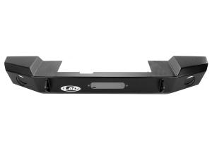 LOD Signature Series Mid-Width Front Bumper w/NO GUARD Black Powder Coated (Part Number: )