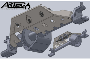 Artec Industries Dana 60 Full Hydro RAM Mount (Part Number: RM6001)