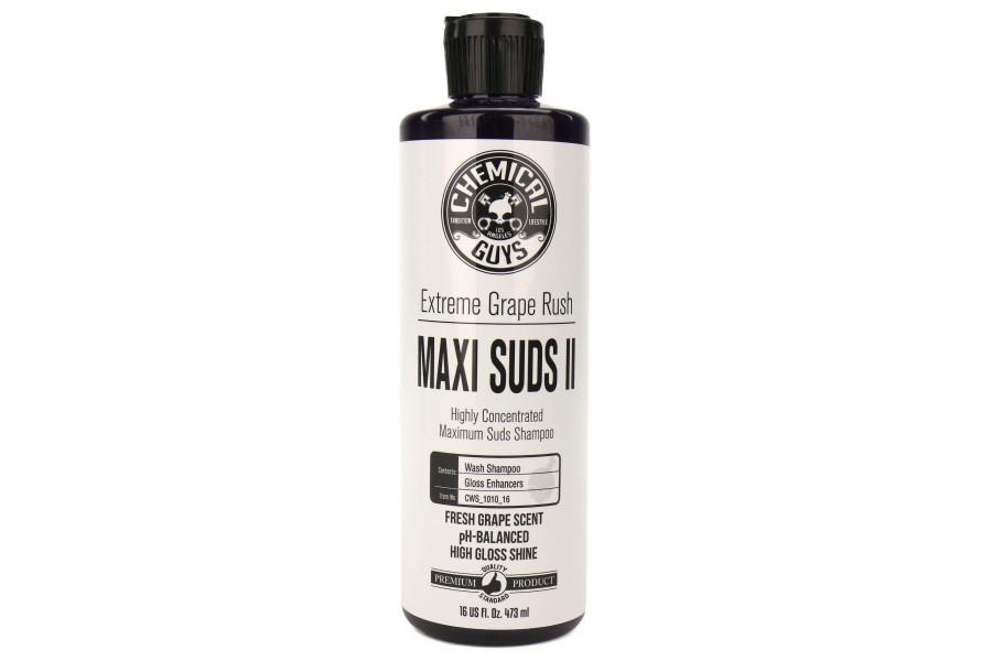 Chemical Guys Maxi Suds 2 High Foam Maintenance Shampoo and Gloss Booster - 16oz