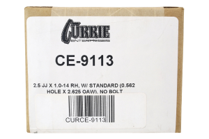 Currie Enterprises Forged Johnny Joint 2.5in (Part Number: )