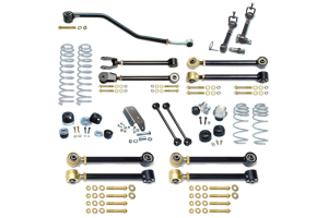 RockJock Johnny Joint 4in Suspension w/Sway Bar Disconnects - LJ