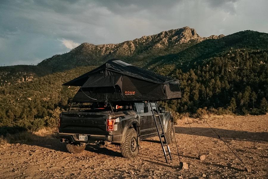 Roam Vagabond Rooftop Tent - Black