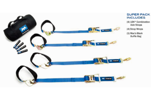 Mac's Super Pack 8ft W/Direst Hook Rachets Blue (Part Number: )