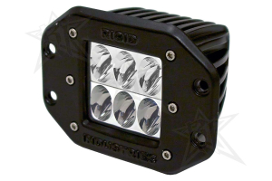 Rigid Industries Dually D2 LED Lights Flush Mount Driving White (Part Number: )