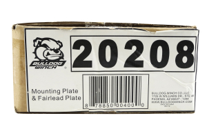 Bulldog Winch 10th Anniversary Edition OE Bumper Winch Mount (Part Number: )