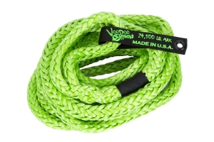 VooDoo Offroad Kinetic Recovery Rope Green 3/4in x 30ft