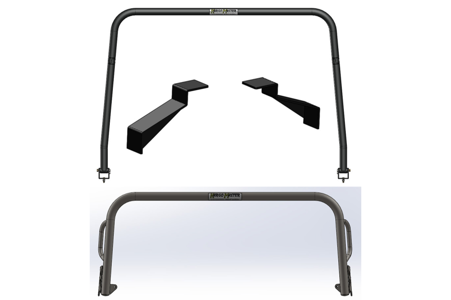 Kargo Master Congo Pro Front and Rear Hoop Kit with Frame Brackets (Part Number:55027)