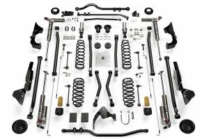 Teraflex Alpine RT6 Long Arm Lift Kit - w/Falcon 3.3 Adjust. Shocks - JK 4dr