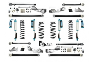 EVO Manufacturing 3.5in High Clearance Long Arm Lift Kit w/King Shocks - JL 4dr