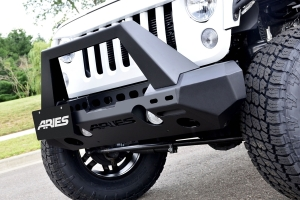 Aries Trail Chaser Front Bumper (Option 2) - JK