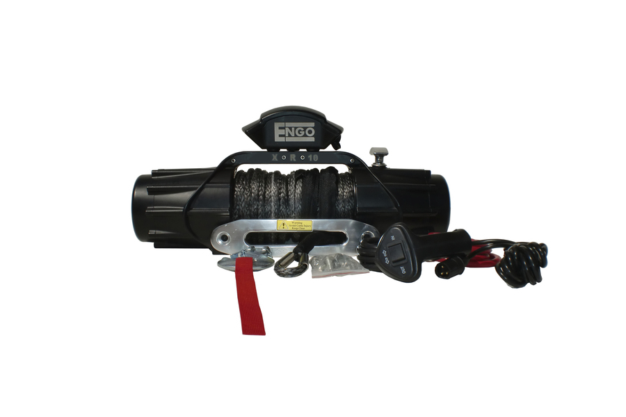 ENGO XR Series Winch w/Synthetic Rope 10,000lb (Part Number:98-10000S)