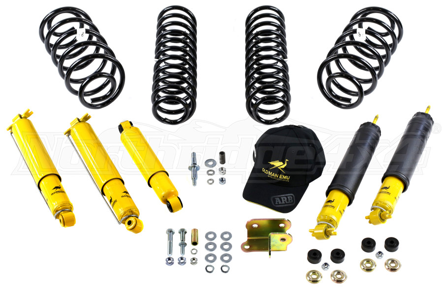 ARB Old Man Emu 2IN Complete Light Suspension Lift Kit - TJ