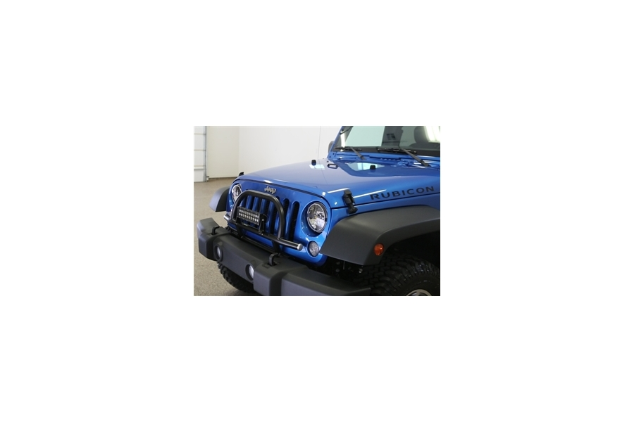 Rock Hard 4x4 Light Mount with Grille Guard - JK