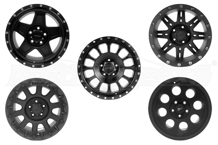 Pro Comp Series Wheel Package (Part Number:WHEELPKG)