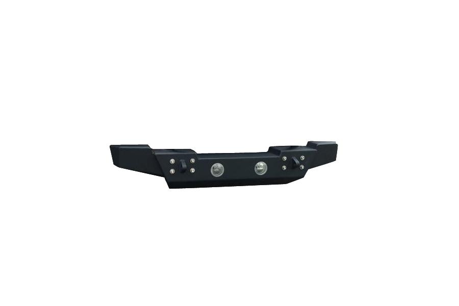 Ace Engineering Mid Width Bumper w/Fog Light Provision Black ( Part Number: JKMWBFL)