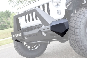 Aries Trail Chaser Front Bumper Corners - JK