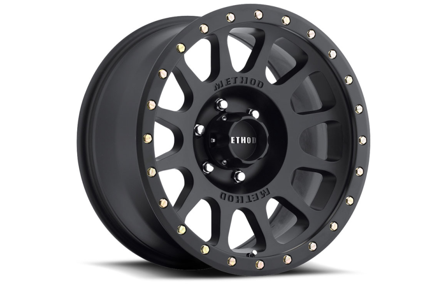 Method Race Wheel 305 Series Wheel Matte Black 17x8.5 5x5 (Part Number:MR30578550500)