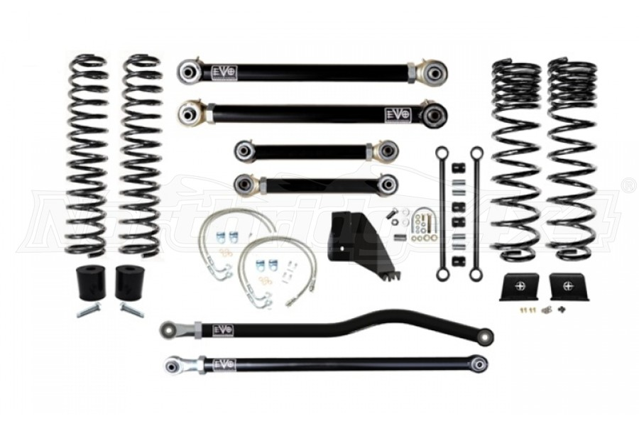 EVO Manufacturing 4.5in Enforcer Lift Kit Stage 3 PLUS (Part Number:3062S3P)