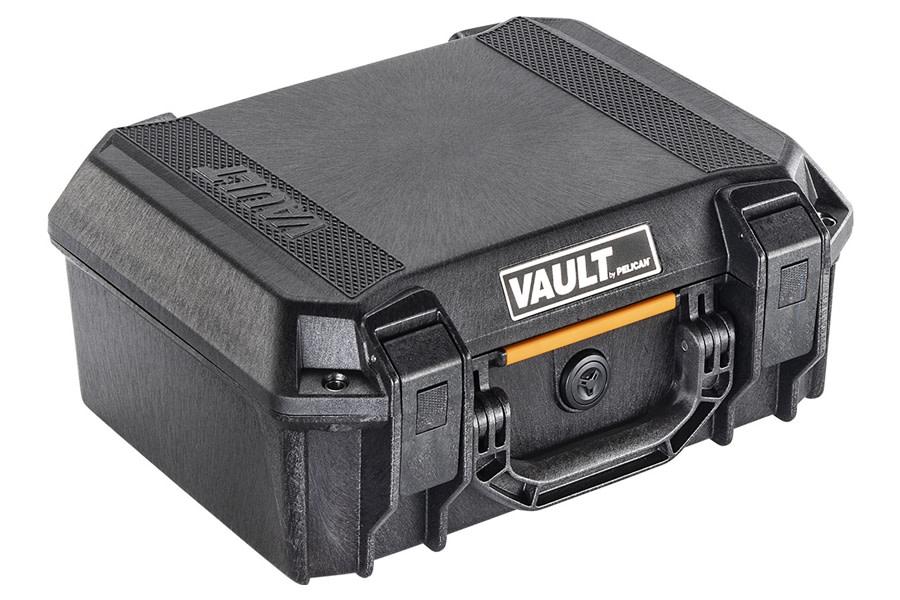 Pelican V200C Vault Medium Equipment Case w/ Foam Insert - Black