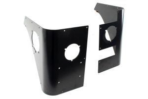 Poison Spyder Trail Corners Black w/Led Inserts - TJ