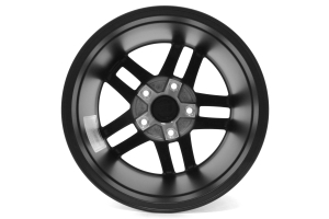 Rugged Ridge Jesse Spade Wheel Black Satin 17x9 5x5 (Part Number: )
