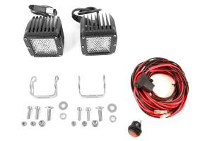 Rigid Industries Dually Light Set 60 Degree Lens Diffused (Part Number: )