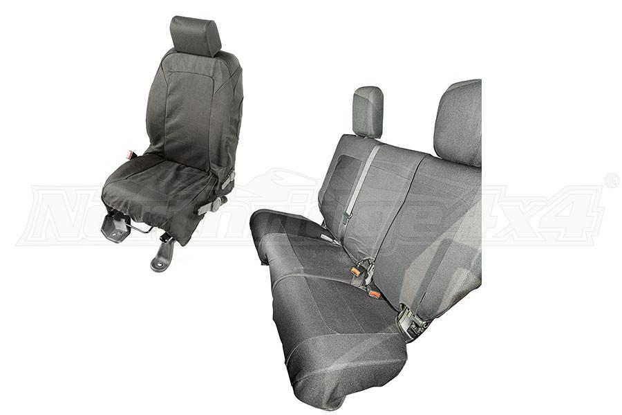 Rugged Ridge Elite Ballistic Seat Cover Set (Part Number:13256.02)